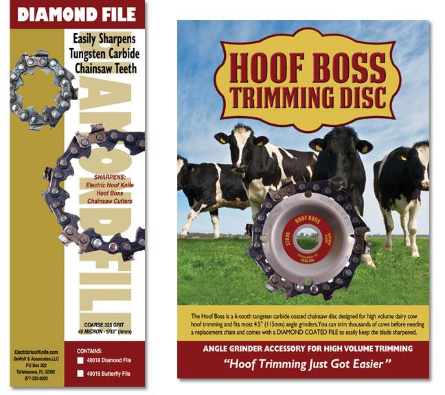 Hoof Tools Packaging