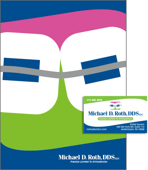 Dr. Roth Pocket Folder, Logo