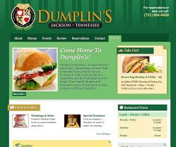 Dumplins Restaurant Website